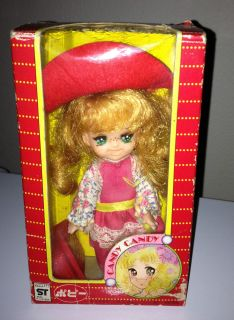 Vintage Popy Lady Giorgie Candy Candy Anime Big Eye Doll Made in Japan