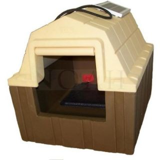 ASL Solutions DP Hunter Insulated Dog House Includes Heater and Fan