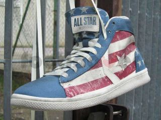 Scarpe Converse Star Player Pro Leather 1C560 Limited Stars Bars USA Flag Air