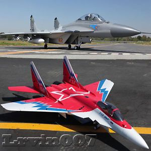 MIG 29 3D Vector Thrust Aerobatic RC Electric Twin 70mm EDF Fighter Jet Airplane