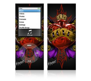 WL3 Apple iPod Nano Decal Skin Sticker Cover Traditional Tattoo 3