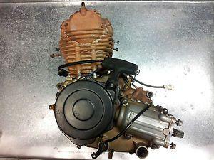 Complete Engine Motor Crankcase Case 2000 Kawasaki Bayou 220 KLF220 Klf 220