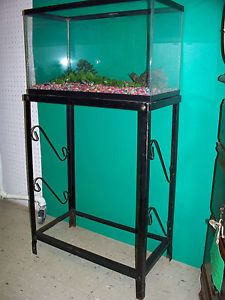 laeken clear candlestick metal stand on PopScreen 10 Gallon Fish Tank Stand Metal