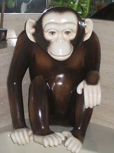 Sergio Bustamante Paper Mache Monkey Art A Beautiful Sculpture Chimp 17 100