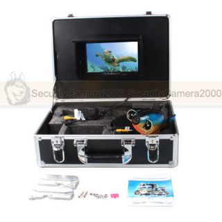 "600TVL 1 3"" CMOS Underwater Fish Shape Camera 7 0 inch LCD Monitor Diving Kit"