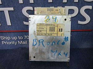 1135 1985 Ford Bronco II 2 8L ECM Engine Control E57F 12A650 B1A 590 01168