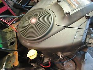 Briggs Stratton 24 HP Intex Vertical Shaft Engine  Model 445677