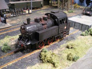 JTG German WWII Railroad Series German Railway Engine No 590 Custom Detailed