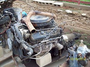 1990 454 Big Block Chevy Complete Motor w TH 400 Auto Trans
