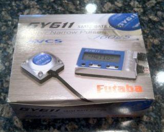 LNIB Futaba GY611 Gyro w S9256 Digital Hi Speed Tail Servo FUTM0825
