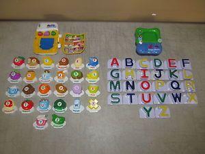 Vtech LeapFrog Fridge Phonics ABC Food Fun Magnetic Letter Alphabet Set
