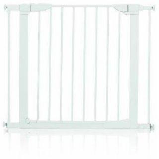 Munchkin Auto Close Metal Baby Gate White Swinging Door