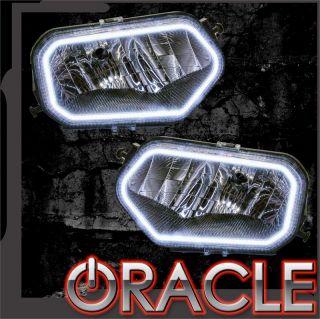 07 13 Polaris RZR ATV White Plasma Oracle Intense Lighting Halo Kit Off Road