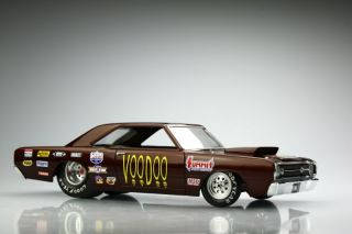 68' Dodge Hemi Dart Super Stock Pro Mod Pro Stock 1 25