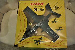 Cox Thimble Drome Stuka Model Plane