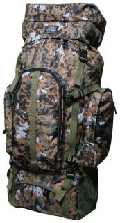 4700CI 5400CI Nexpak Internal Frame Hiking Backpack Brown Digital Camo New