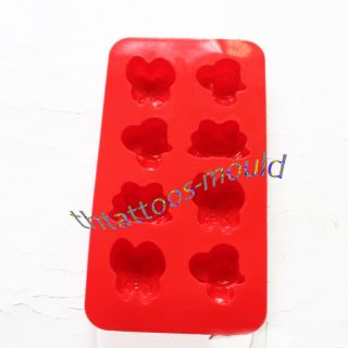 Hot Silicone Frog Bee Animals Chocolate Cake Soap Baking Molds Moulds 21 x 11cm