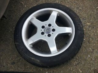 00 06 Mercedes Benz Wheel Tire Michelin 245 45 R18 Ships Free