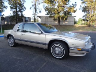 1 Owner 90 Cadillac Eldorado Biarritz Coupe 4 5L V8 86K Original Miles etc Video