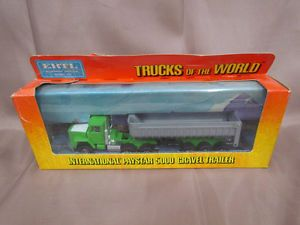 Ertl International Paystar 5000 Gravel Trailer 1403 Diecast Toy Semi Truck
