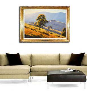 Large Australian Eucalyptus Trees Original Oil Painting