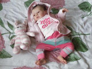 Baby Dust Nursery Reborn Doll Prototype Kyra G Legler