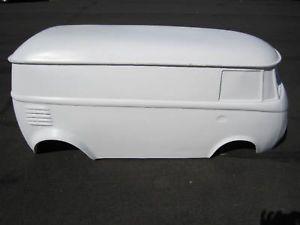 VW Bus Split Window Hot Rod Stroller Go Kart Fiberglass Body Samba Rat Rod