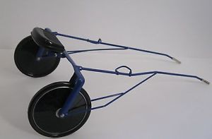 Breyer Harness Racing Metal Sulky Cart Race Bike 3360 Leather Harnesses