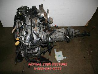 Subaru WRX Impreza GC8 Turbo Engine Transmission JDM EJ20G Turbo w ECU