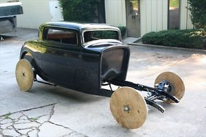 1932 Ford Rolling Chassis and 3 Window Coupe Hot Rod Street Rod Package