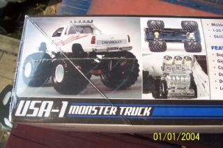 AMT 632 USA 1 Monster Truck Model Kit New SEALED gms Customs Spring Sale