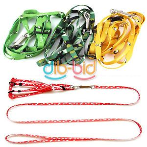 New Pet Dog Doggie Puppy Pulling Harness Leash Rope 01