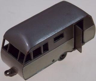 Vintage Lesney Matchbox Series No 23 Bluebird Dauphine Caravan Travel Trailer