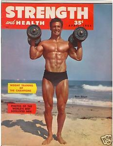 Strength Health Bodybuilding Fitness Musclemag Bert Elliott 4 54