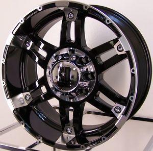 "20x9"" Black XD Spy Wheels Rims Nissan Titan Toyota Tacoma Tundra 4 Runner FJ 4x4"