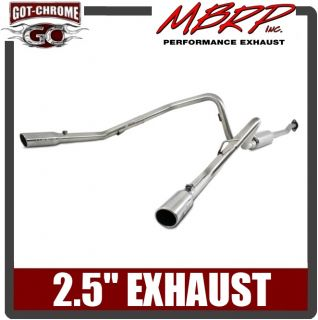 S5238409 MBRP Dual Exhaust System Ford F150 V6 Ecoboost 2011 2013