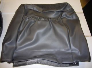95 97 Chevy s 10 Blazer Jimmy Gray Velour Seat Covers