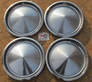 """1957 Plymouth Belvedere Savoy Hot Rod Rat Rod 14"""" Wheel Covers Hubcaps 4"""
