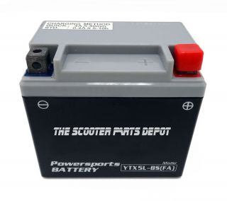 YTX5L BS 12V Battery SEALED Activated Scooter Yamaha Jog Vox XC50 Vino Zuma XF50