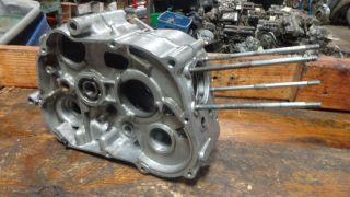 1960 62 Honda C110 Super Sports Cub HM631 Engine Motor Crank Cases
