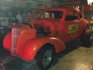 1937 Chevy Coupe Hot Rod Rat Rod 3250 00