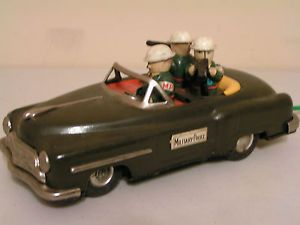 Line Mar Military Police Battery Operated Car Marx