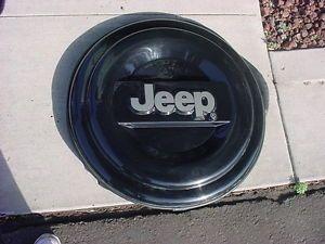 Liberty Wrangler Spare Tire Cover Hard Plastic Jeep