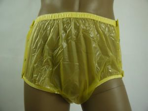 New Adult Baby Plastic Pants PVC Incontinence P004 3T