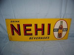 Vintage NEHI Soda Bottle
