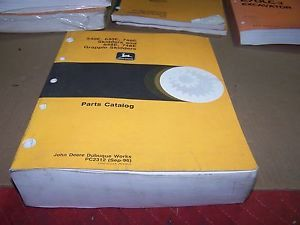 John Deere 540E 640E 740E 648E 748E Skidders Parts Catalog Manual