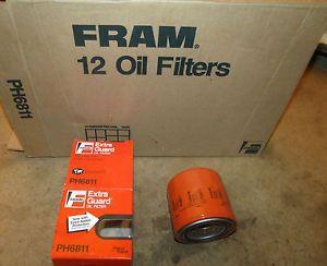 Fram Lot of 12 Oil Filters Part PH6811 Kubota B 6000 Ph 6811