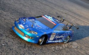1 10 Remote Control HSP Flying Fish Drifter Drift Car RTR RC w Battery Charger B