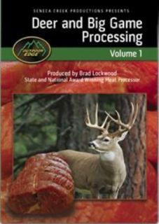 Deer and Big Game Processing DVD Outdoor Edge DIY