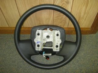 06 11 Ford Crown Victoria Charcoal Black Steering Wheel w O Cruise